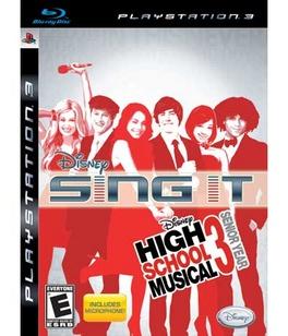 Disney Sing It High School Musical 3 Senior Year B - PS3 - New