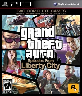 Grand Theft Auto Episodes From Liberty City - PS3 - New