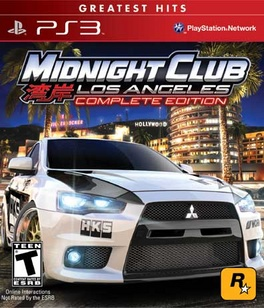 Midnight Club LA Complete Edition Greatest Hits - PS3 - New