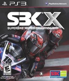 SBK X - PS3 - New