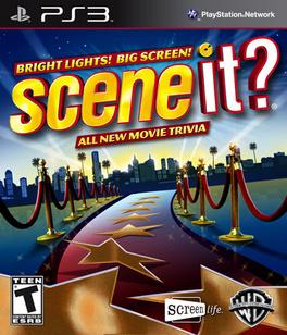 Scene It: Bright Lights Big Screen - PS3 - New