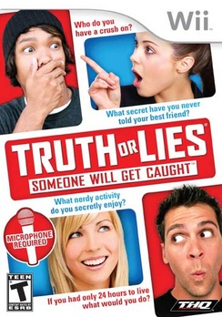 Truth or Lies - Wii - New