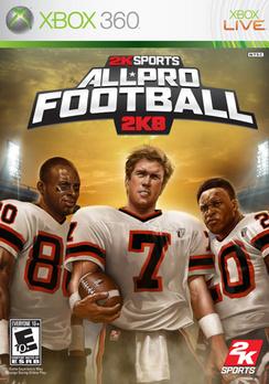 All Pro Football 2K8 - XBOX 360 - New