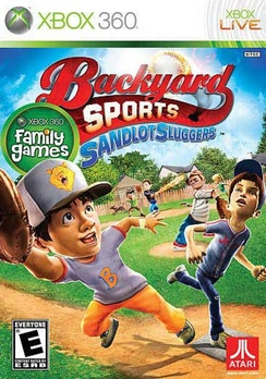 Backyard Sports Sandlot Sluggers - XBOX 360 - New
