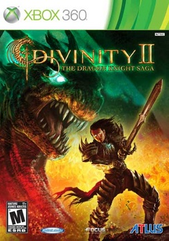 Divinity II The Dragon Knight Saga with Soundtrack - XBOX 360 - New