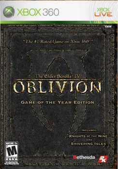 Elder Scrolls IV Oblivion Game Of The Year Edition - XBOX 360 - New
