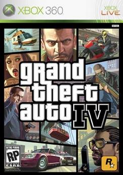 Grand Theft Auto IV - XBOX 360 - New