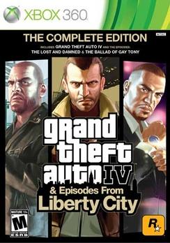 Grand Theft Auto IV Complete - XBOX 360 - New