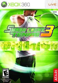 Smash Court Tennis 3 - XBOX 360 - New