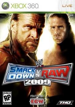 WWE Smackdown Vs Raw 09 - XBOX 360 - New