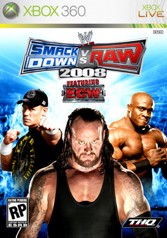 WWE Smackdown Vs Raw 2008 - XBOX 360 - New