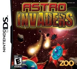 Astro Invaders - DS - Used