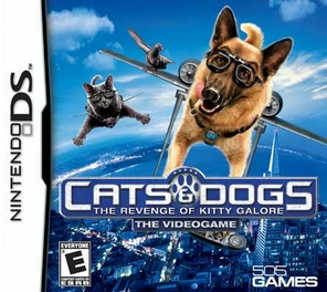 Cats & Dogs: Revenge Of Kitty Galore - DS - Used