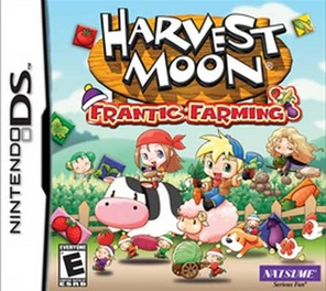 Harvest Moon: Frantic Farming - DS - Used