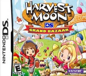 Harvest Moon: Grand Bazaar - DS - Used
