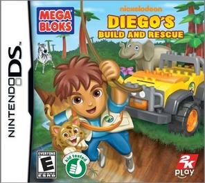 Mega Bloks Diegos Build and Rescue - DS - Used