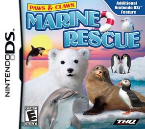 Paws & Claws Marine Rescue - DS - Used