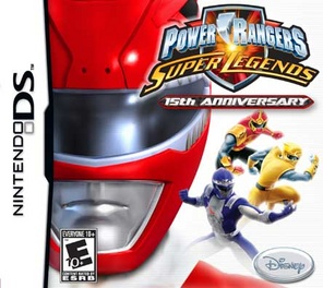 Power Rangers Super Legends - DS - Used