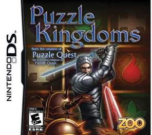 Puzzle Kingdoms - DS - Used