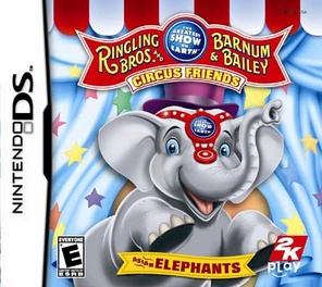Ringling Bros And Barnum & Bailey Circus - DS - Used