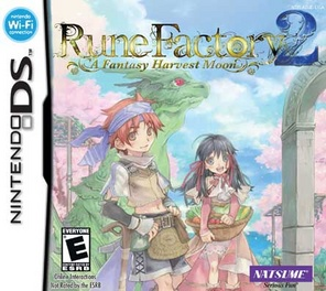 Rune Factory 2 Fantasy Harvest Moon - DS - Used