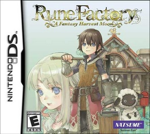 Rune Factory Fantasy Harvest Moon - DS - Used