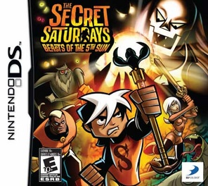 Secret Saturdays: Beasts Of The 5th Sun - DS - Used