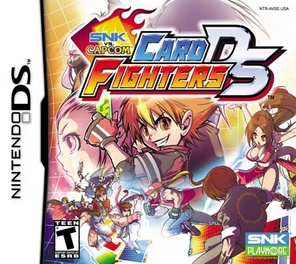 SNK vs Capcom Card Fighters - DS - Used