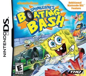 Spongebob Boating Bash - DS - Used