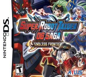 Super Robot Taisen OG Saga Endless Frontier - DS - Used
