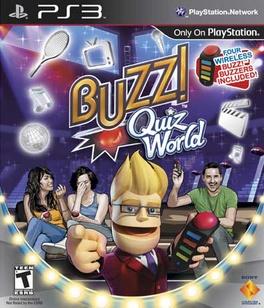 Buzz Quiz World Bundle - PS3 - Used