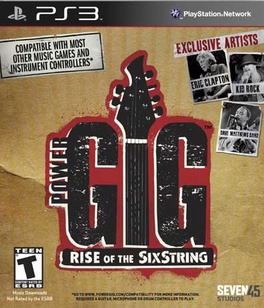 Rise Of The Sixstring (software only) - PS3 - Used