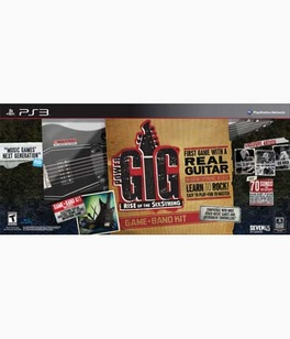 Rise Of The Sixstring Band Kit - PS3 - Used