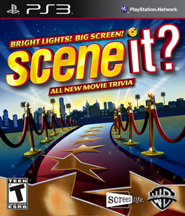 Scene It: Bright Lights Big Screen - PS3 - Used
