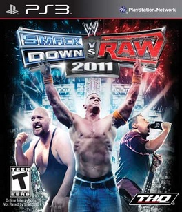 WWE Smackdown Vs Raw 2011 - PS3 - Used