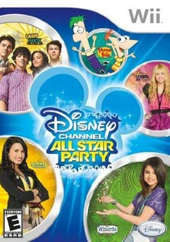 All Star Party-Disney Channel - Wii - Used