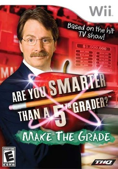 Are You Smarter Than A Fifth Grader Make The Grade - Wii - Used
