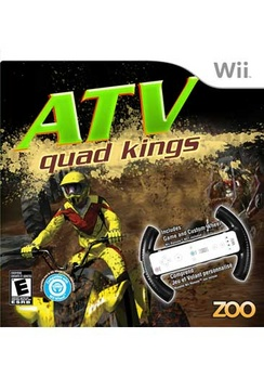 ATV Quad Kings With Wheel - Wii - Used