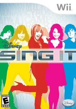 Disney Sing It - Wii - Used