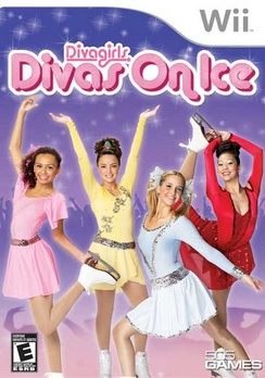 Diva Girls-Divas On Ice - Wii - Used