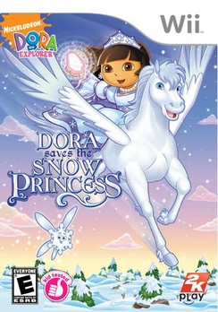 Dora The Explorer Dora Saves The Snow Princess - Wii - Used