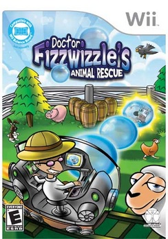 Dr Fizzwhizzles Animal Rescue - Wii - Used