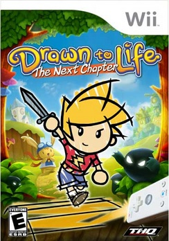 Drawn To Life Next Chapter - Wii - Used