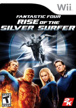 Fantastic 4 Rise Of The Silver Surfer - Wii - Used