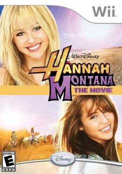 Hannah Montana The Movie - Wii - Used