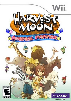 Harvest Moon: Animal Parade - Wii - Used