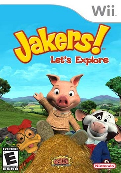 Jakers Lets Explore - Wii - Used