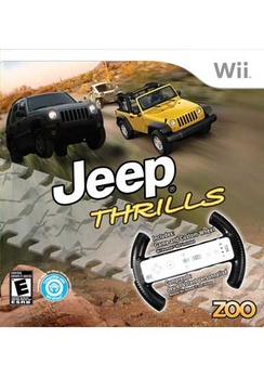 Jeep Thrills With Wheel - Wii - Used