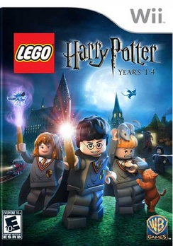 Lego Harry Potter Years 1-4 - Wii - Used