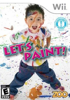 Lets Paint - Wii - Used